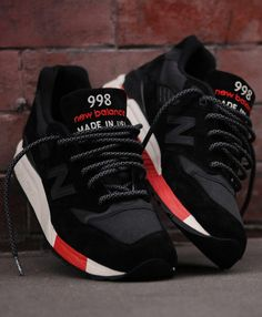 New Balance 998, in black, Men's Fall Winter Fashion.
