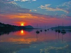 Campbeltown Loch, Mull of Kintyre. - Scotland.