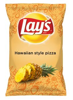 Wouldn't Hawaiian Style Pizza be YUMMY as a chip? Lay's Do Us A Flavor is back, and the search is on for the yummiest chip idea. Create one using your favorite flavors from around the country and you could win $1 million! https://www.dousaflavor.com See Rules.