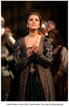 Angela Gheorghiu in Verdi's Simon Boccanegra.