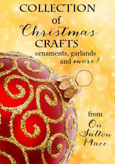 Christmas | Through the Years | DIY Christmas ideas and inspiration for the home. Includes Christmas crafts, gifts, food, decorations, wreaths.