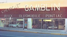 Art Gamblin Motors Old Dealership - Art Gamblin Motors Old Pictures, Buick, Motors, Neon Signs, Art, Antique Photos, Old Photos, Kunst, Art Education