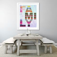 SO HAPPY TOGETHER family,typography,wallart,canvas,canvas print,home decor, wall,framed prints,framed canvas,artwork,art