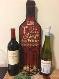 Two of my favorites from my monthly wine delivery. Syrah from Italy and Muscadet from France. Both delicious and sooo smooth! Love getting a surprise every month and trying new wines that I would not have otherwise! To learn how I do this check out my site!