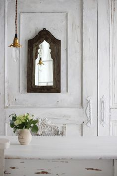 powder~Wood Mirror~