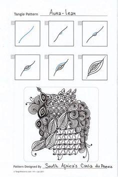 Прикосновение к Миру Творчества...: zentangle:
