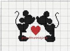 Topolini Cross Stitch Bookmarks, Cross Stitch Baby, Baby Boy Knitting Patterns, Baby Knitting, Cross Stitch Designs, Cross Stitch Patterns, Broderie Simple, Pixel Art Templates, Pixel Pattern