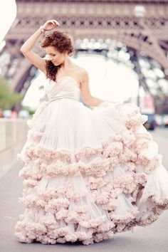 Ruffled in Paris-- There's another pic of this somewhere on this board!