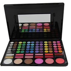 Easy lifestyles Professional 78 Colors Matte Pearly Bright Colorful Eyeshadow Palette Lip Palette Concealer Contouring Powder Blusher Bronzer Highlight Color Makeup Palette Kit Set *** You can get more details by clicking on the image.