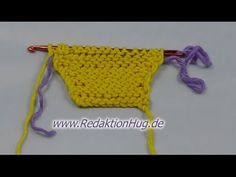 Knooking - increases of purl stitches (IN GERMAN - If you are familiar with knooking, you can watch this video to learn this stitch... The video is very good... Deb)