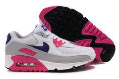 Nike Air Max 90 Damen Schuhe Blau/Schwarz