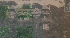 Geneviève Straus' villa in Trouville, Le Clos des Mûriers,  was completed in 1893. http://www.flickr.com/photos/canecrabe/5729334548/in/photostream. (le clos des mûriers aux reflets verts ou chauffe marcel (3) by canecrabe, via Flickr)
