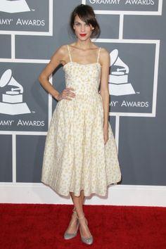 Alexa Chung - Grammys 2013