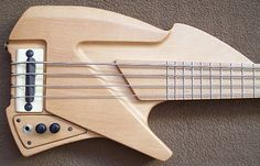 2013 Monsterbass Guitars Shorty Bass - ultra short scale