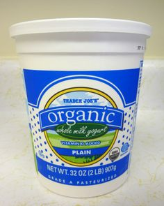 What's Good at Trader Joe's?: Trader Joe's Organic Whole Milk Yogurt