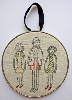 family portrait  smallappletree.etsy.com