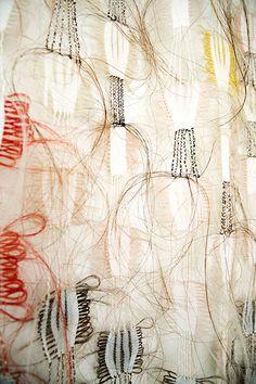 Mkemp Africa detail Marianne Kemp: Horsehair weaving