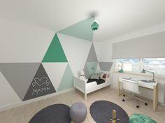 house in pastel colors, interior design, pastelowy pokój dziecka, www.atoato.pl