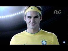 Certamente mais um trabalho para se orgulhar. Federer 'brasileiro' by Africa. Time P TOP!!!!