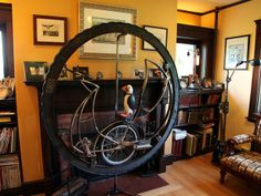 Celebrating the Unusual With HGTV's Home Strange Home : Page 25 : On TV : Home & Garden Television - Perpetual Motion Machine