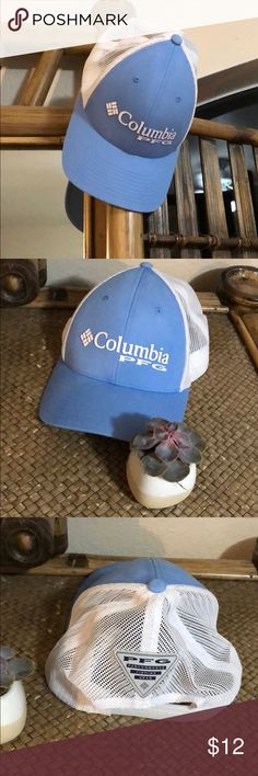 13fe9057ca0 Hat Columbia light blue hat Worn once Accessories Hats Columbia