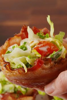 BLT Cups - Delish.com
