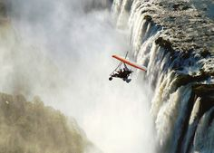 Test your sense of adventure with a trip to Zambia. Like this post if you'd like to visit Victoria Falls! Visit Victoria, Victoria Falls, Chutes Victoria, African Holidays, Africa Destinations, Adventure Activities, Greatest Adventure, Rest Of The World, Africa Travel