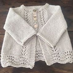 Old Shale Cardigan - Knitting Pattern | Beautiful Skills - Crochet Knitting Quilting | Bloglovin'