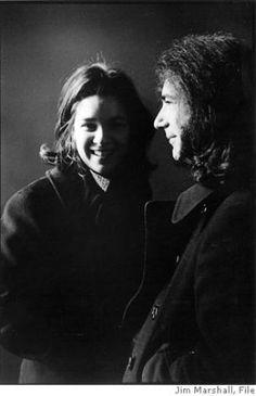Jerry and Caroline Garcia...aka Mountain Girl!