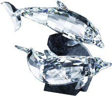 S955350 SWAROVSKI CRYSTAL DOLPHINS SOULMATE NEW 2008 ** You can get more details by clicking on the image. Note: It's an affiliate link to Amazon.