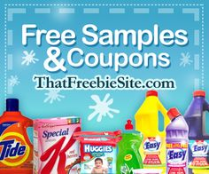 Free Samples and Coupons!!