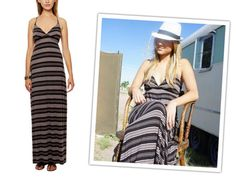 Spaghetti Strap Maxi Dress.