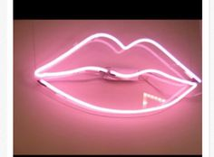 home accessory neon light pink lips neon neon light bar home decor bedroom led led lights lighting hot pink cute tumblr cool neon pink tumblr bedroom girly