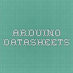 Arduino - DataSheets