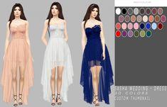 Sasha Wedding Dress at Simply Simming • Sims 4 Updates