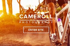 Check out Cameroll - Photography Template by imithemes on Creative Market