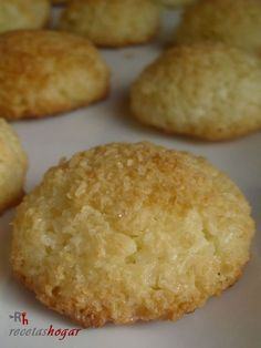 Cupcake Recipes, Cookie Recipes, Dessert Recipes, Desserts, Mexican Bread, Happy Kitchen, Pan Dulce, Coconut Cookies, Portuguese Recipes