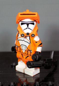 Clone Army Customs | P2 Bomb Squad Trooper Lego Custom Minifigures, Lego Minifigs, Star Wars Minifigures, Star Wars Klone, Lego Star Wars, Star Troopers, Clone Trooper, Lego Clone Army, Lego Stormtrooper