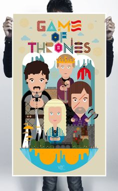 Game of Thrones by A Beautiful Design , via Behance