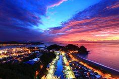南方澳迎曙光 Taiwan