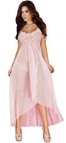 Chilirose Langes Babydoll CR3716 pink (S/M)  http://www.damenfashion.net/shop/chilirose-langes-babydoll-cr3716-pink-sm/