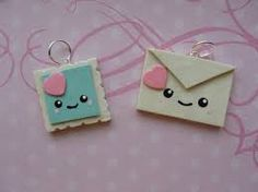 polymer clay cute charms - Buscar con Google