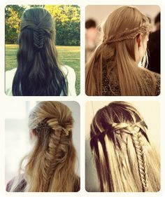 best and latest Half up and half down fishtail with cheap human hair extensions