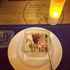 El mejor tiramusú del mundo en el restaurante amalfitana de Madrid