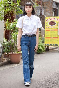 MERU   FOREVER 21 used WEGO CONVERSE   3rd week  Jun. 2016   Harajuku   Tokyo Street Style   TOKYO STREET FASHION NEWS   style-arena.jp