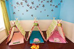 Tiendas de campaña para niños