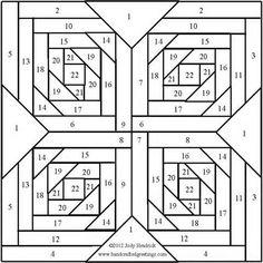 Iris Folding Patterns and Instructions