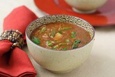 Ethiopian-Inspired Lentil Soup from FatFree Vegan Kitchen Lentil Soup Recipes, Red Lentil Soup, Vegetarian Recipes, Quinoa Soup, Veggie Soup, Healthy Recipes, Marsala, Ethiopian Lentils, Whole Food Recipes