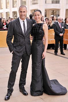 Найджел Байкер с женой на открытии балетного сезона