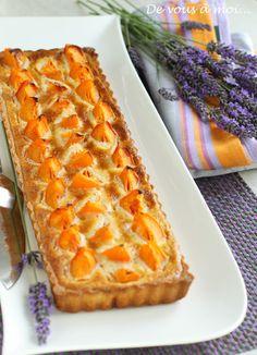 De vous à moi...: Tarte aux Abricots, Crème d'Amandes au Miel de Lavande